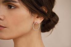 Joidart Constellation Medium Stud Silver Earrings