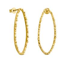 Joidart Constellation Long Stud Gold Earrings