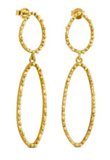 Joidart Constellation Double Stud Gold Earrings