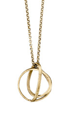 Joidart Embolic Small Necklace with Chain Gold