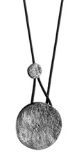 Joidart Freda Medium Necklace Blackened Silver