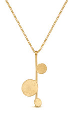 Joidart Flower Bloom Medium Gold Necklace