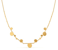Joidart Flower Bloom Large Gold Necklace