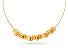 Joidart Plecs Large Gold Choker