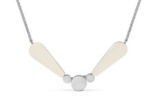 Joidart Lacrima Small Silver Necklace