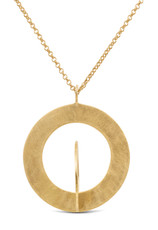 Joidart Cercles Small Gold Pendant