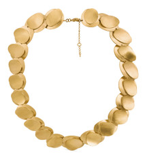 Joidart Magnolia Link Gold Necklace