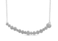 Joidart Pebbles Single Silver Necklace