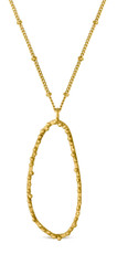Joidart Constellation Long Gold Pendant