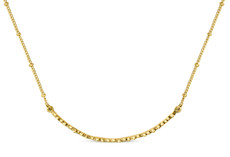 Joidart Constellation Bar Gold Necklace