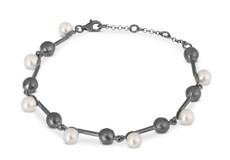 Joidart Fancy Bracelet Blackened Silver
