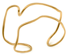 Joidart Tramuntana Cuff Gold Bracelet