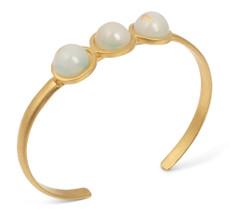 Joidart Anais Bracelet Green Gold