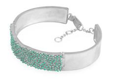 Joidart Estiu Bracelet Blue Silver