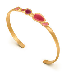 Joidart Born Gold Bracelet Red