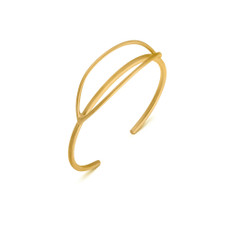 Joidart Luna Gold Bangle Bracelet