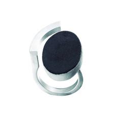 Joidart Keramik Silver Black Ring