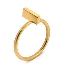 Joidart Toujours Bar Gold Ring