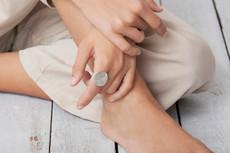 Joidart Magnolia Silver Ring