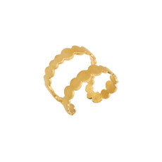 Joidart Pebbles Double Gold Ring