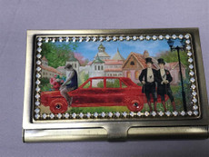 Michal Negrin Red Car Card Holder