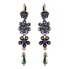 Michal Negrin May Swarovski Crystals Earrings