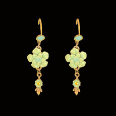 Michal Negrin Must Have Painted Flower Earrings