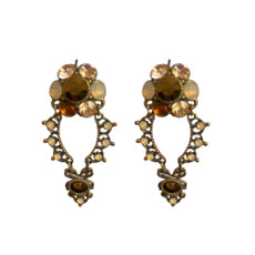 Michal Negrin Lima Franch Wire Earrings