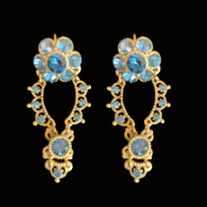 Michal Negrin Swarovski Crystals Lima Earrings