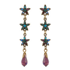 Michal Negrin Swarovski Crystal Gisele Earrings