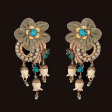 Michal Negrin Samanta Clip on Earrings