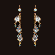Michal Negrin She Shine French Wire Earrings