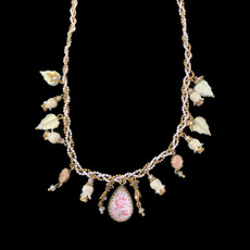 Michal Negrin Ring My Bells White Necklace