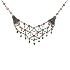 Michal Negrin Mother of the Bride Swarovski Crystals Necklace