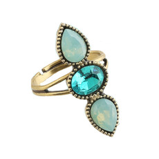 Michal Negrin LaLa Crystal Adjustable Ring