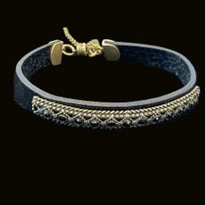 Michal Negrin Gotham Sparkel Black Bracelet