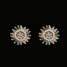 Michal Negrin Crystal Elle Earrings