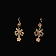 Michal Negrin Bow French Wire Earrings