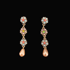 Michal Negrin Presents of Mind Pearl Post Earrings
