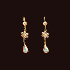 Michal Negrin Fresh Flower Dangle Earrings