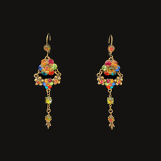 Michal Negrin Rainbow Day French Wire Earrings