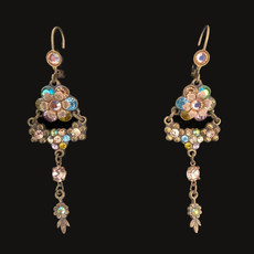Michal Negrin Rainbow Day Bright French Wire Earrings