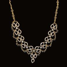 Michal Negrin Peace Wish Light Blue Necklace