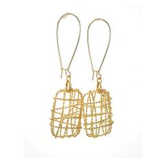 Anat Gold Geometric Earrings