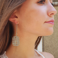Anat Gold Geometric Earrings