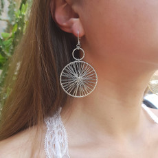 Anat Fine Evening Earrings