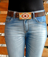 Iris Designs Swirling Mango Belt Buckle