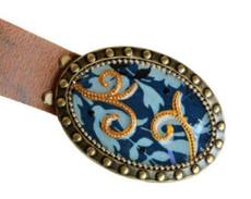 Iris Designs Native Waves Belt Buckle