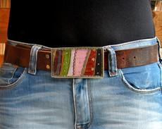 Iris Designs Lines Belt Buckle