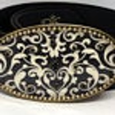 Iris Designs Opened Pebble Belt Buckle